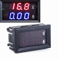 Paneelmeter Digitaal Voltage + Amp.
