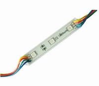 Ledmodule 2x RGB 3-led's 12Vdc