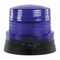 LED Knipperzwaailamp blauw