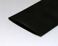 Krimpkous ø50.8 mm 0,5 mtr. zwart