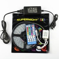 RGBWW Led strip 5mtr. + controller 230Vac 300Led's