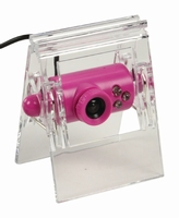 basicXL USB 2.0 Webcam (roze)