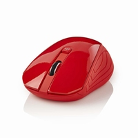 PC Wireless RF Mouse rood