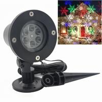 Sneeuwvlok projector LED wit