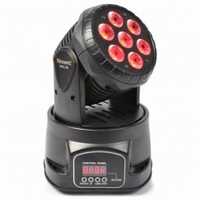 BeamZ MHL74 Mini Moving Head 7X10W