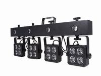 Compact DJ-BAR 16x9W RGBW+ 4 x strobo
