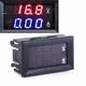 Paneelmeter Digitaal Voltage + Amp.