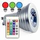 RGB Led spot + afstand bed. GU10 5W.