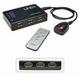 HDMI Switch 5-weg + afbed.